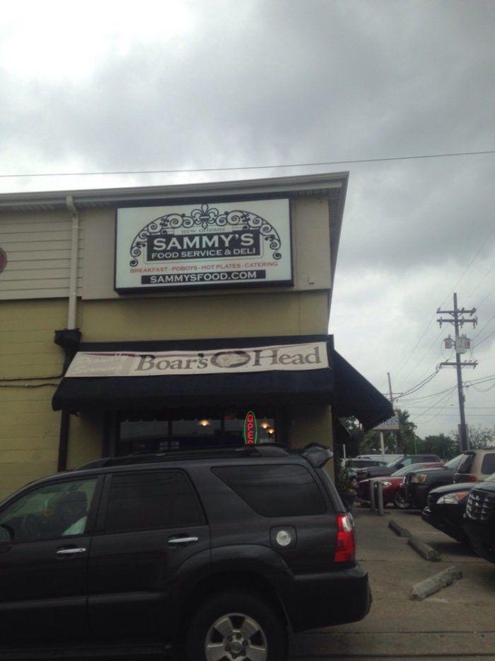 7) Sammy's Food Service & Deli, 3000 Elysian Fields Ave.
