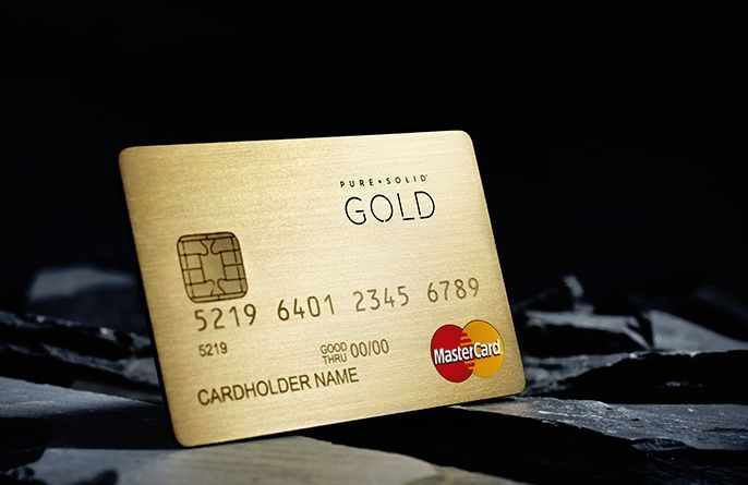 Mastercards' Pure + Solid Luxury Credit Cards Are Made with Real Metal #luxury #ideas trendhunter.com