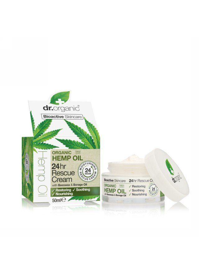 TRY - Dr Organic Hemp Oil 24Hr Rescue Cream | Organica