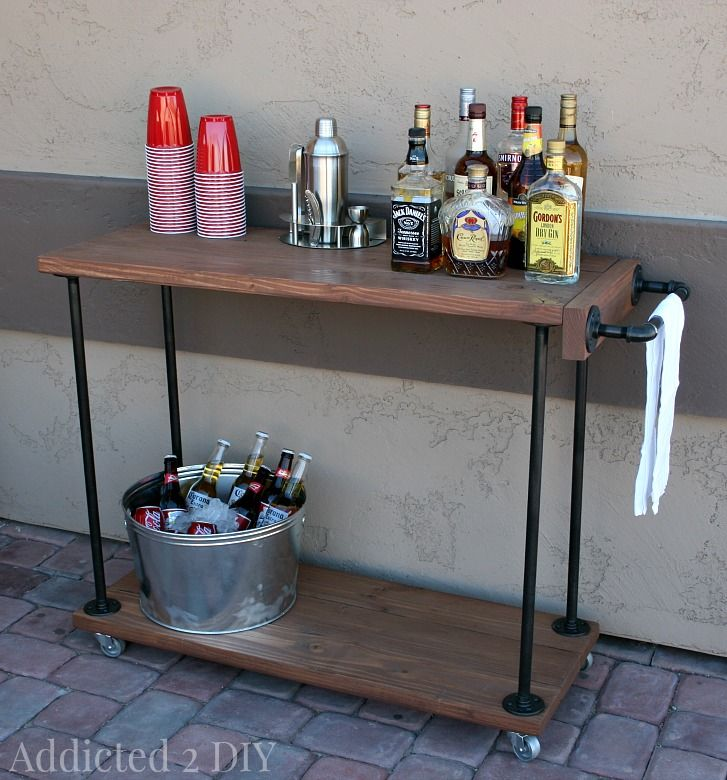 best 25 industrial bar cart ideas on pinterest bar cart