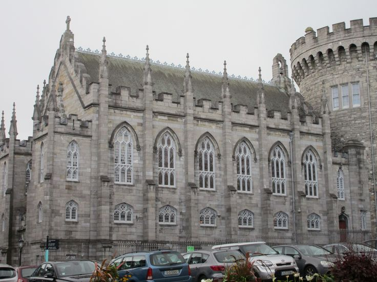 And Dublin Castle, where thousands gathered on May 23, 2015 to celebrate the passing of the country-wide Marriage Equality law.
