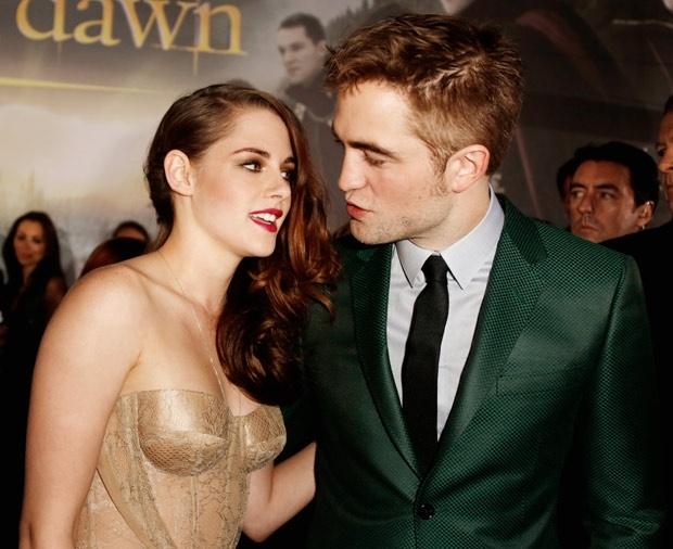 Kristen y Robert asisten juntos  a la premiere de `Crepúsculo´