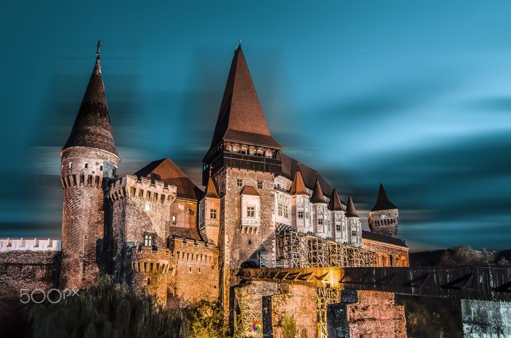 Castle Corvini! - This is the fantastic gothic castle in transilvania, the titan of Romania! ©2014  FB: https://www.facebook.com/Sasametal/?ref=aymt_homepage_panel