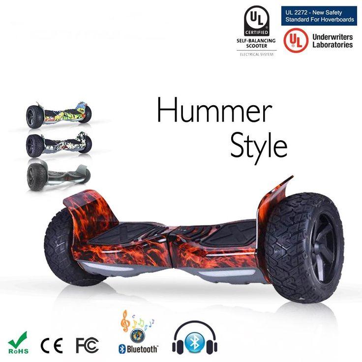 """Ηλεκτρικό Πατίνι Ισορροπίας  350-2  Samsung Battery 8.5"""" Two Wheel Bluetooth Hoverboard & Bag"""