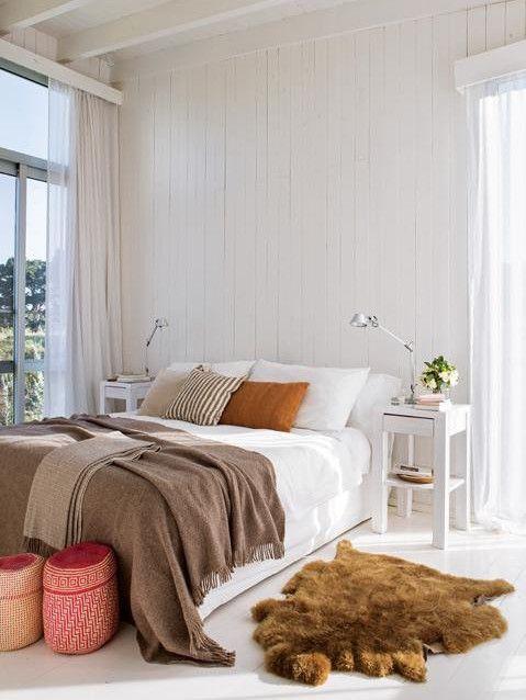Вторая спальня также имеет выход на террасу. .