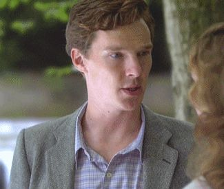"cumbered-cat: ""   He could investigate me any day. "" Benedict Cumberbatch as Luke Fitzwilliam Margo Stilley as Bridget Conway Murder Is Easy (2008) "" """