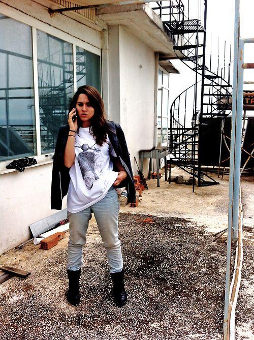 the retro project #fashion #style vespa t-shirt