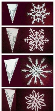 papieren kerst sterren