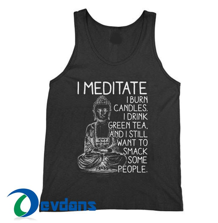 Meditate Cheap Tank top Men and Women Adult Size S – 2XL