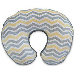 Boppy Nursing Pillow Slipcover, Boutique Gray Chevron