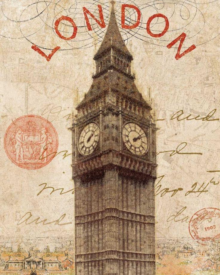 Пожелания днем, открытка с англией