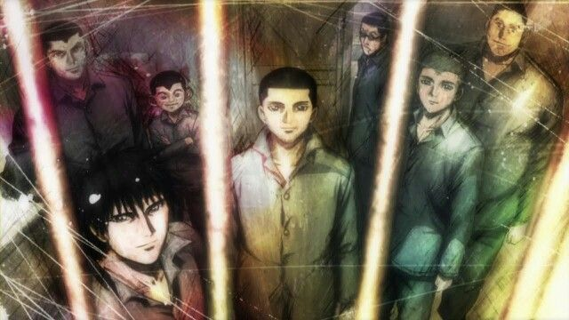 Rainbow: Nisha Rokubou no Shichinin, this anime was awesome but sadly it's extremely underrated