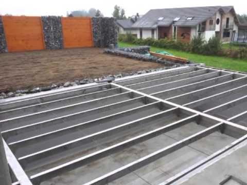 Terrasse mobile de piscine : un Rolling-Deck® en 2 parties à Margency - YouTube