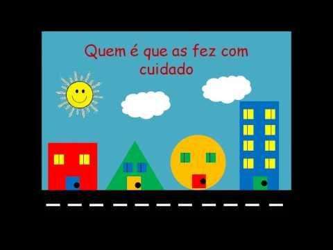 Músicas para o Jardim de infância - A rua das formas - YouTube