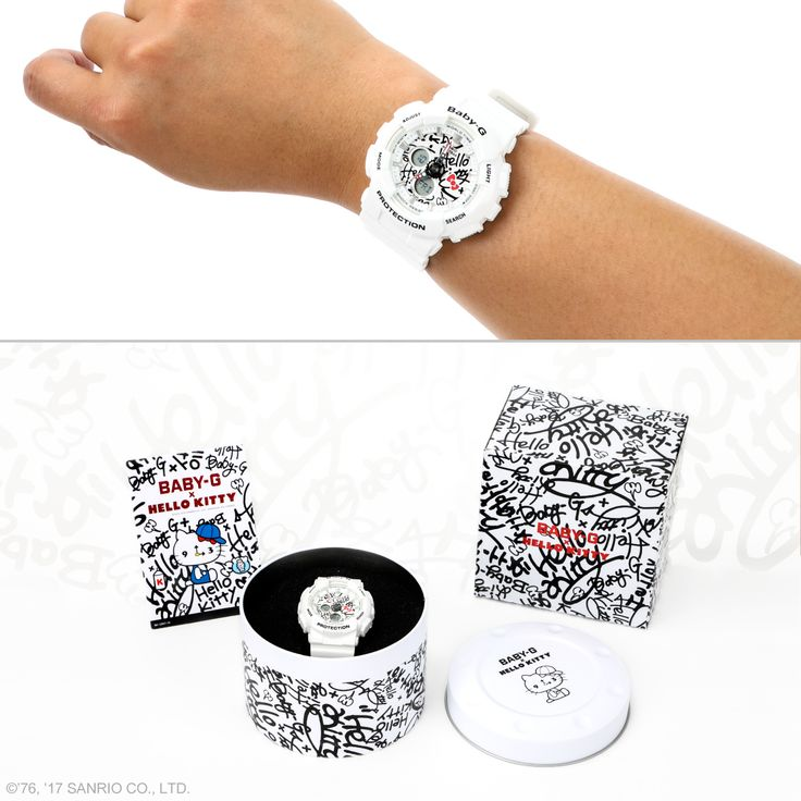 Guess what time it is? It's time for you to take a peek at this supercute Baby-G x Hello Kitty watch! Limited quantities available.