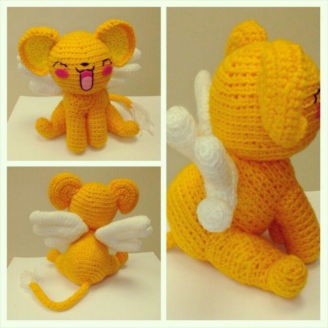 Kero / card captor sakura amigurumi / crochet