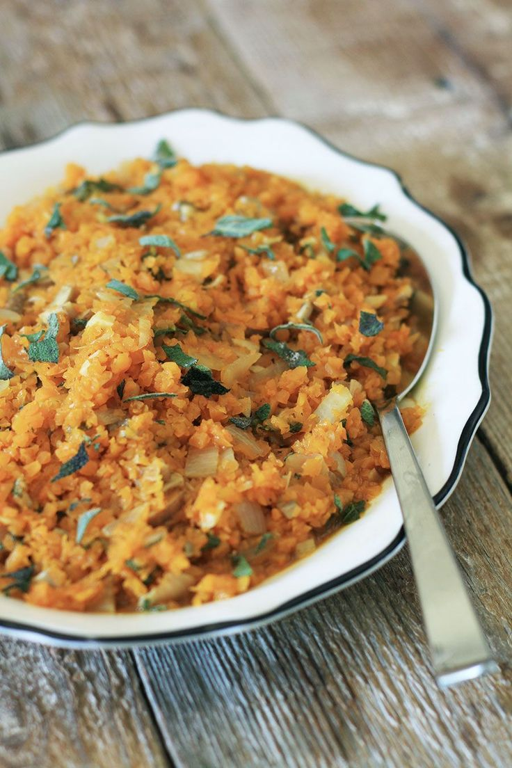 Butternut Squash Risotto AIP paleo gluten free I have to got to make this asap!