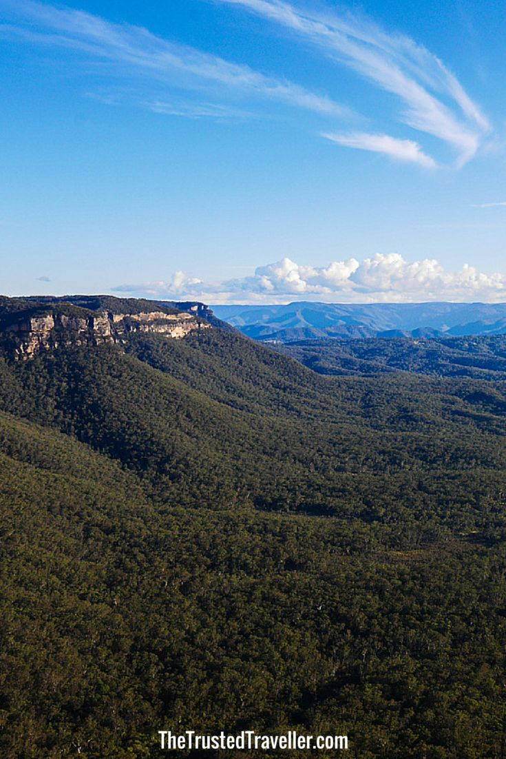 Cahill's Lookout, Katoomba - 7 Stunning Lookouts in Australia's Blue Mountains - The Trusted Traveller
