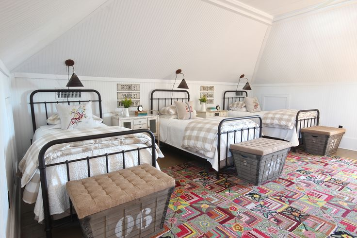 bunk room from Country Living magazine-Holly Mathis Interiors