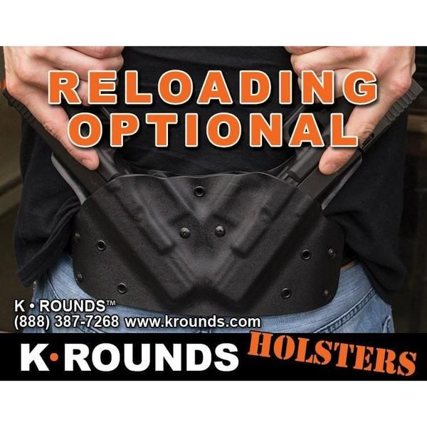 OWB Double Pancake - K Rounds, LLC Kydex, Holster | Firearms