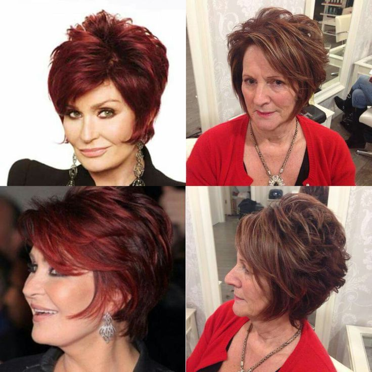 Sharon and mam hair