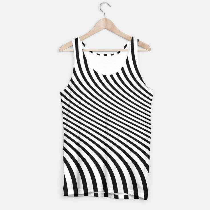 stripes tank top, Live Heroes