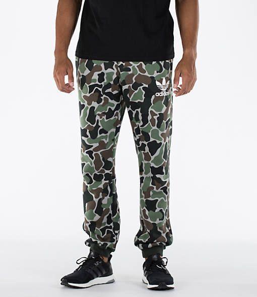 adidas Men's Camo Cuffed Pants