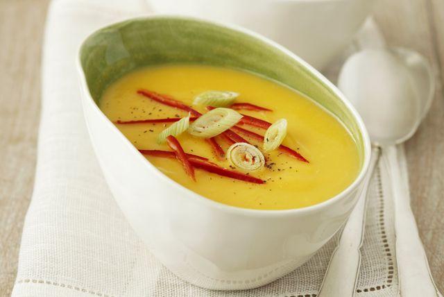 Creamy Coconut-Pumpkin Soup