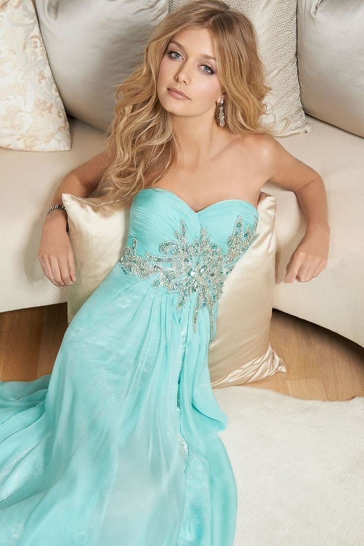 198 best prom images on pinterest homecoming poses prom group 2014 hot selling prom dresses sweetheart a line beaded and pleated bodice court train chiffonlace ombrellifo Images