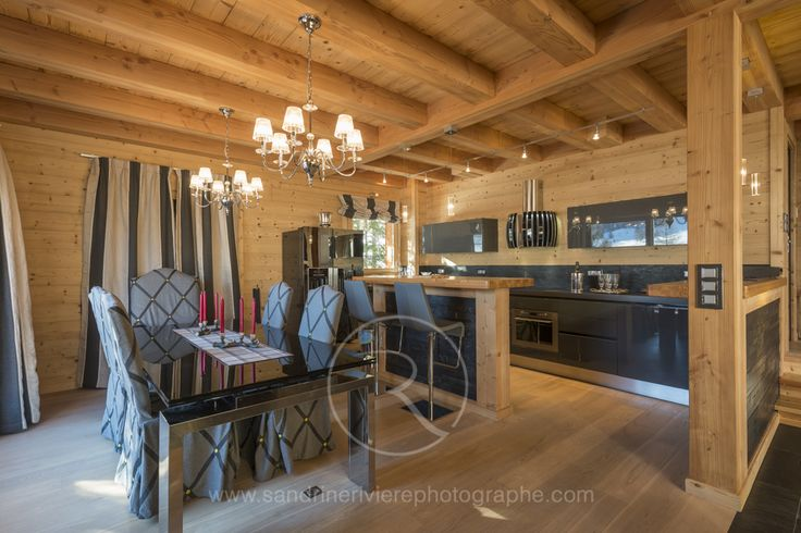 29 best images about photos d 39 int rieur de chalets et for Jeu de decoration de maison entiere
