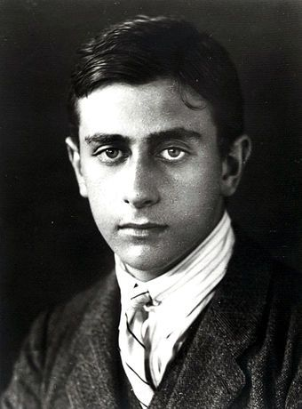 Nuclear physicist Edward Teller in his youth.