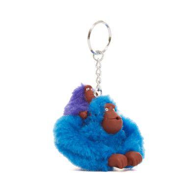 Small Sven & Baby Monkey Keychain