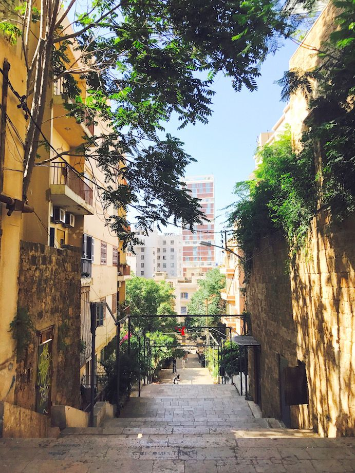 Gemmayze Saint Nicolas Stairs, Beirut