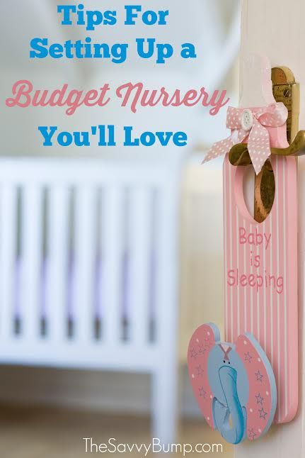 Are you setting up a nursery on a tight budget? These tips will help you save money and create a nursery you will love.