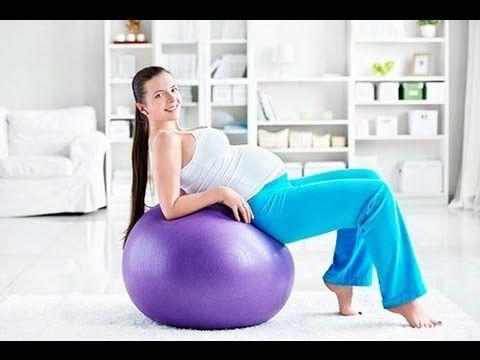 Фитбол для беременных. Из курса Гимнастика для беременных. Урок № 26 - YouTube