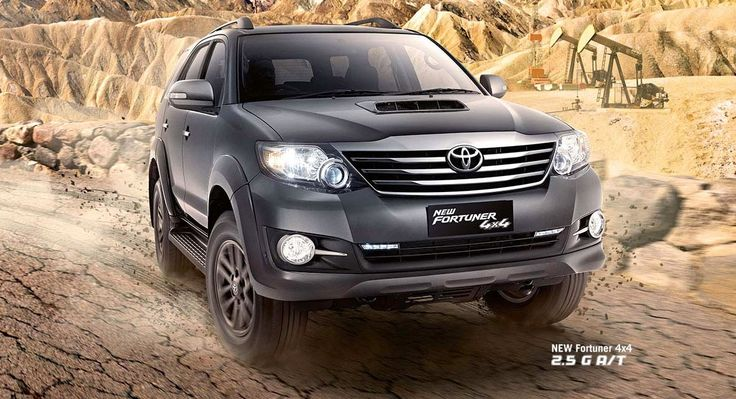 Toyota Fortuner 4WD