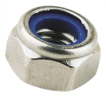 Achetez Ecrou frein, Acier Galvanisé brillant, Insert nylon, M5