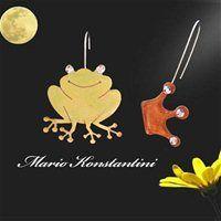 Χειροποίητα Κοσμήματα #Mario  #Konstantini  - Βατραχάκι με κορώνα http://www.mariokonstantini.gr/products_det.asp?prid=49&catid=16