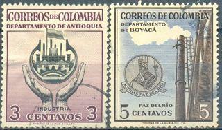 FILATELICAS DE COLOMBIA.