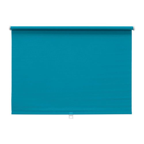 IKEA - DISKODANS, Block-out roller blind, 120x160 cm, , The blackout blind has a special coating and does not let any light through.Can be cut to the desired width.The blind is cordless for increased child safety.