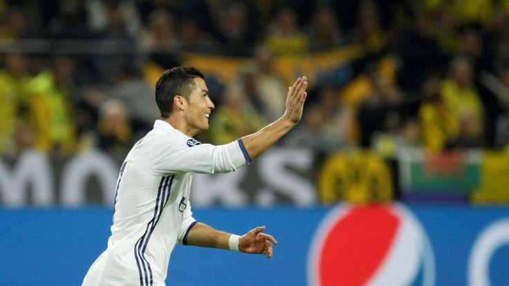 Real Madrid's Cristiano Ronaldo first to score 100 European goals