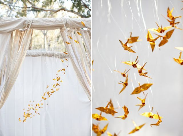 What do you think of a Hunger Games-themed wedding - cute or cliché? View gallery: http://bit.ly/yr8vMc