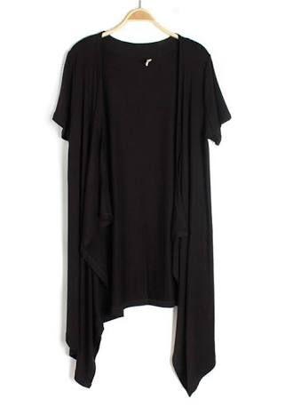 long black chiffon cardigan short sleeve - Google Search