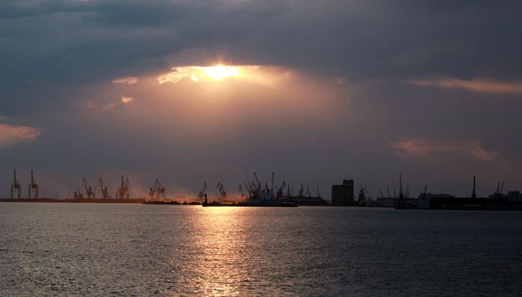 Thessaloniki Port View