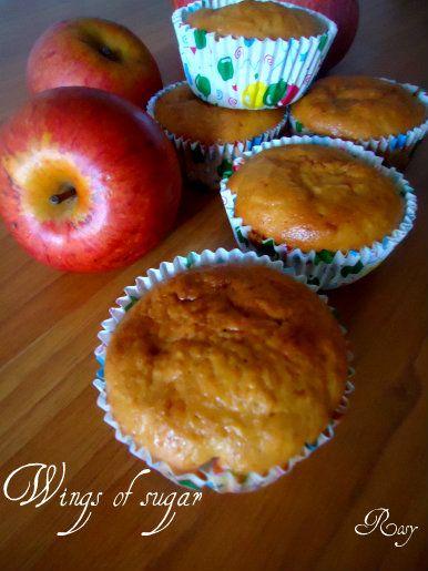 Muffin alle mele, ricetta