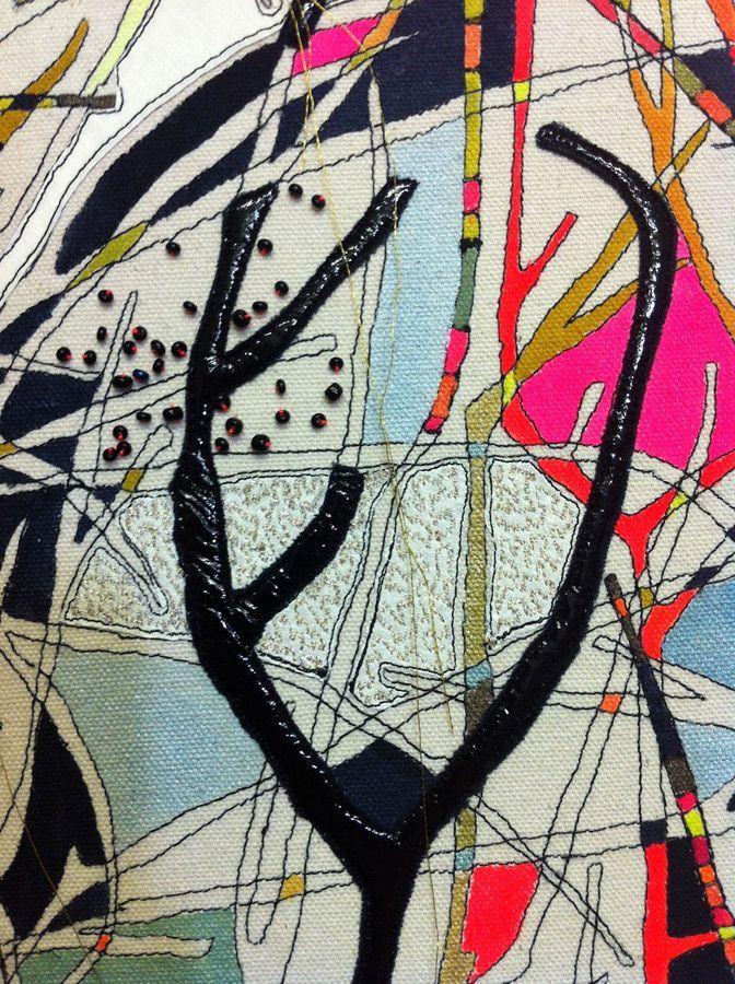 Louise Gardiner - Contemporary Embroidery - Shop - Limited Edition Prints and Scarves- Limited Edition Prints and Silk Scarves