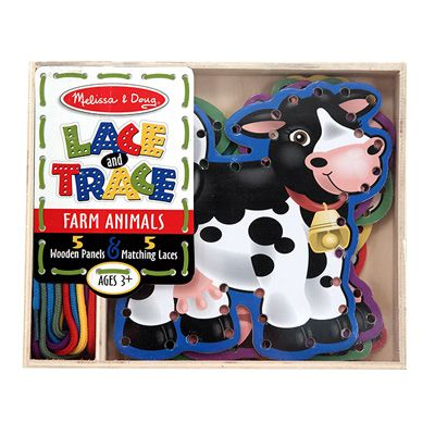 Melissa and Doug Lace and Trace Farm  Item # 3781 $9.99