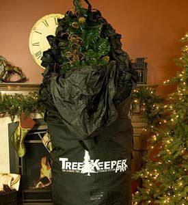 SUCH A GOOD IDEA!!! :) Our Upright Christmas Tree Storage Bag With Stand is the easiest way to store your Christmas tree. The tree can be stored fully decorated and wheeled away