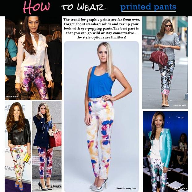 Värikkäät printtihousut ovat kevään must-have!  Get the Look: http://www.netanttila.com/shop/fi/netanttila/naisten-alaosat/nulu-naisten-housut-6210991