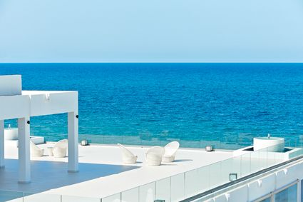 The White Palace in Rethymno is as close as you get to a glimpse of the future